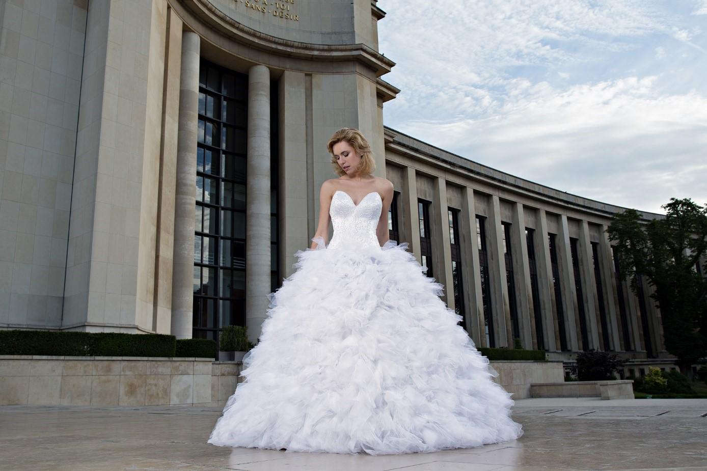 Une belle robe de marie